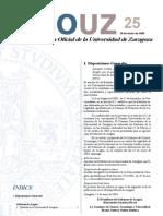 Estatutos de la Universidad de Zaragoza