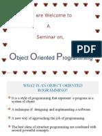 OOPS seminar