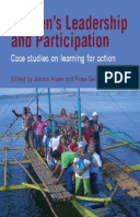 Women's Leadership and Participation: Case studies on learning for action