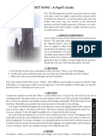 01 Sunset Song Revision Guide