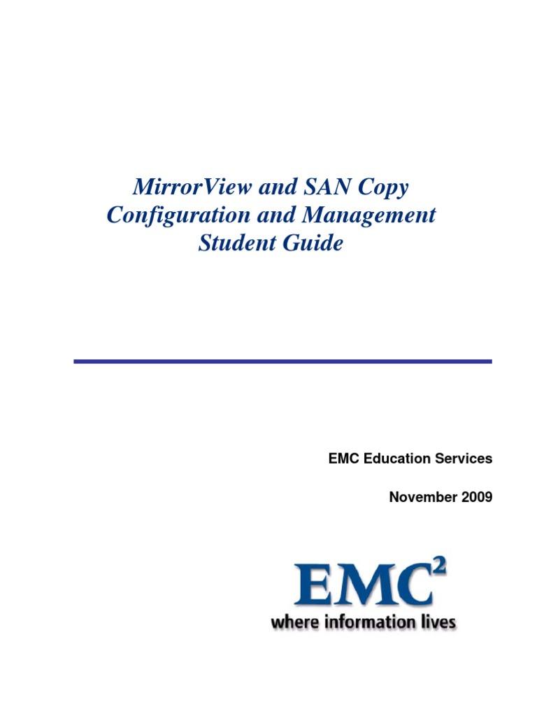 Symmetrix configuration management student guide