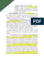 A18 Aspectos preliminares da compreensão de Foucault