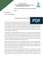 ATIVIDADE 1 - Diario Escolar - Es.LP EMed