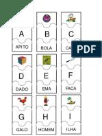Cartelas do alfabeto