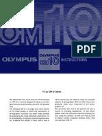 Olympus OM10 Camera Manual