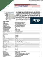 iR 5000 specification