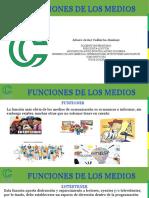 2. FUNCIONES DE LOS MEDIOS DE COMUNICACIÓN (PPT)
