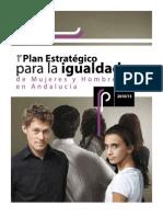 I Plan Estratégico para la Igualdad de Mujeres y Hombres de Andalucía