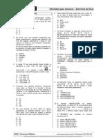 Simulado Excel 3