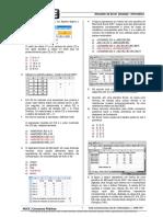 Questões Excel 2007 - Gabarito