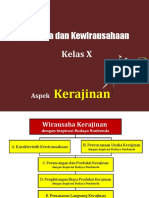 C. Perancangan Dan Produksi Kerajinan