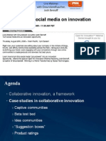 The Impact of Social Media on Innovation - Josh Bernoff