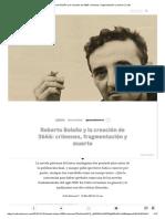 Roberto Bolaño y la creación de 2666
