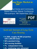 Hendrickson presentation on nursing home market in 2007