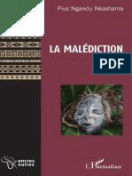 La Malediction_ Roman - Pius Ngandu Nkashama