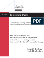 2007 The Minimum Data Set - Recommendations to Help States