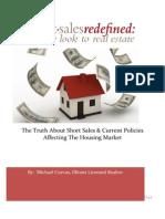 Short Sales the Current Housing Market