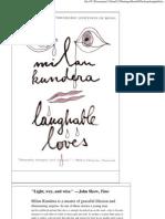 Laughable Loves Pdf