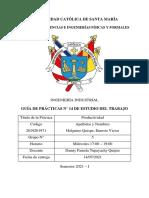 Informe N°14-Productividad