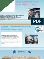 Historia, Desarrollo y Estado Actual de La Ing. Electromecánica