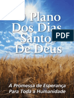 Plano dos Dias Santos de Deus