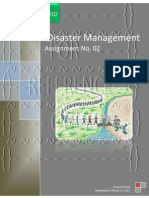 Disaster Management Assignment no 02l