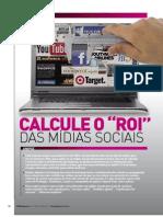 Marketing - Calcule o ROI das mídias sociais