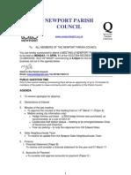 Agenda Npc 11th April 11