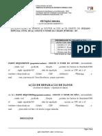 2.1 ACIDENTE de TRÂNSITO - UM autor x UM requerido - reparação de danos