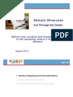 Sample Showcase Presentation