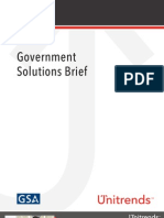 Government Solutions Brief