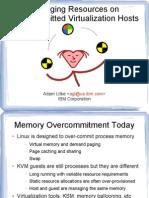 kvm memory pressure