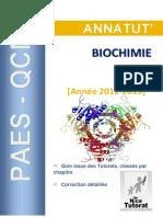 Annatut' UE1-Biochimie 2012-2013