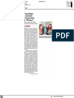 """Il geologo Coccioni nel premio a """"Il Buco"""" - Il Corriere Adriatico dell'11 settembre 2021"""