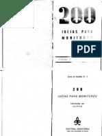 livro de patrulhas para monitor