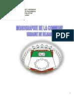 Monographie de La Commune Urbaine de Bejaad
