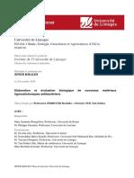 Activité Antibacterienne de Polymer PEG
