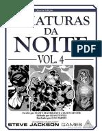GURPS - Criaturas da Noite Vol. 4
