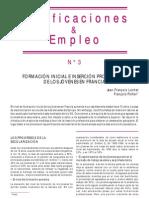 INSERCION LABORAL DE JOVENES EN FRANCIA (POR LEER)