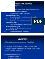 Modes Registers