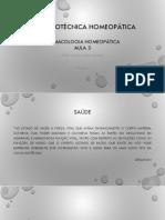 Farmacotécnica homeopática fazag 3
