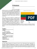 Bandeira da Lituânia – Wikipédia, a enciclopédia livre