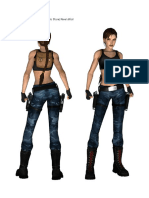 Lara Croft Proporcoes de Estilos Diferentes