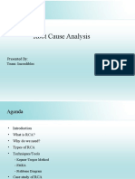 Incredibles_Root Cause Analysis