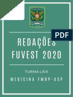 Redações FUVEST 2020