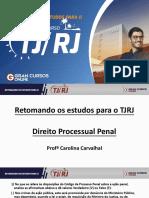 Retomando Os Estudos TJ RJ - Carol Carvalhal