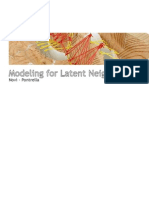 modeling for latent cities