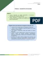 Guía de  trabajo - Diagnóstico situacional (prácticas)