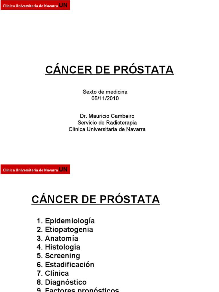 Cáncer de Próstata 051110