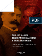 Releituras Saussure e Benveniste
